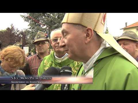 Il nuovo Segretario di Stato Vaticano Mons. Parolin ritorna a Schiavon (VI) di Ugo Bogotto