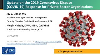 Private Sector Call: Update on Coronavirus Disease (COVID-19) Response