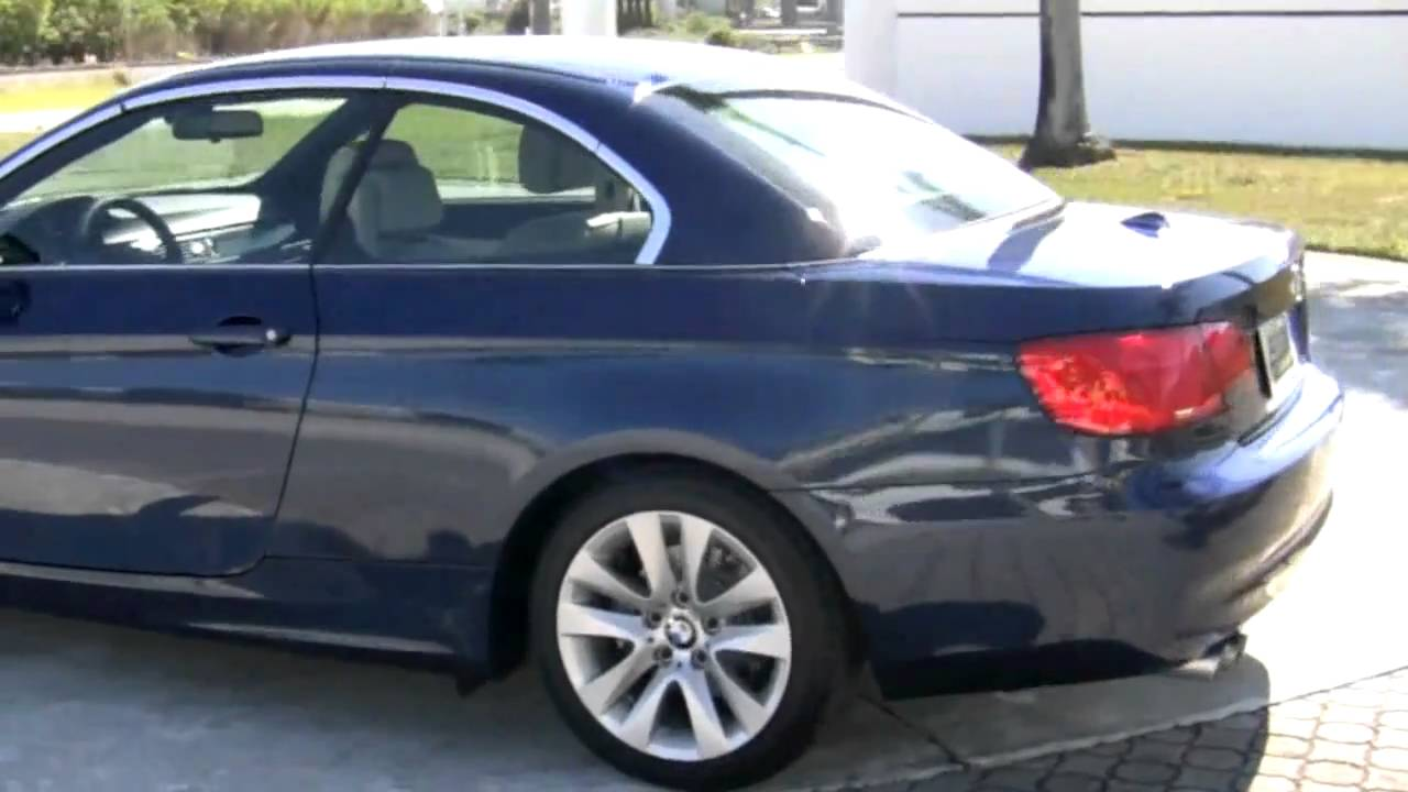 2011 Bmw 328i Convertible A2649 Youtube