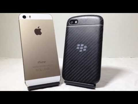 Apple iPhone 5S vs Blackberry Q10 Which Is Faster Better Benchmark AT&T