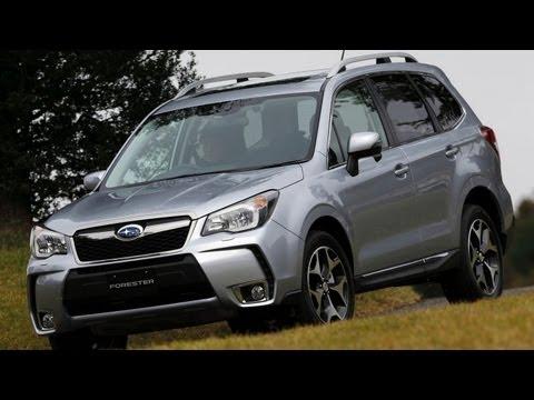 Subaru Forester 2014, правый руль, обзор