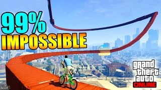 BEST PARKOUR BMX !! GTA 5 ONLINE
