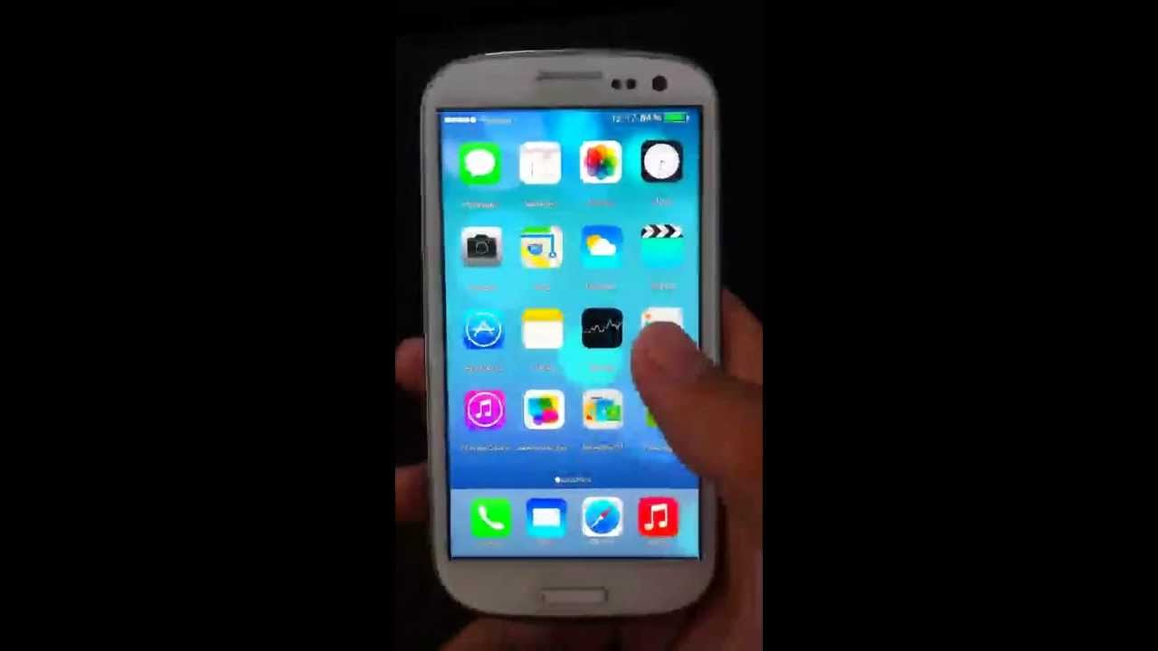 Official : iOS 7 on Samsung Galaxy S3