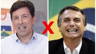 João Amoêdo x Jair Bolsonaro