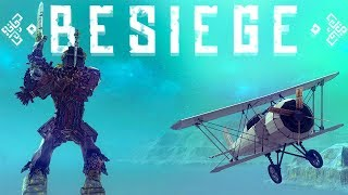 Besiege - The Giant & A Biplane - The Best Maps & Minigames - Besiege Best Creations