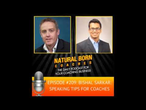 "Bishal Sarkar on USA's ""Natural Born Coaches"" Podcast Radio Show"