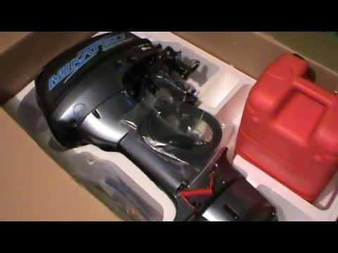 лодочный мотор меркурий 15лс видео