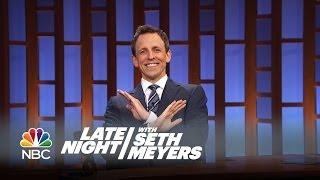 Seth's Story: Chris Rock Gave Seth a Scare - Late Night with Seth Meyers