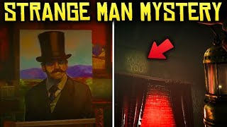 """Red Dead Redemption 2 - THE STRANGE MAN'S CABIN MYSTERY! """"I Know You"""" Easter Egg"""