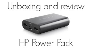 7500 - HP Power Pack 7500 mAh - Unboxing and Review