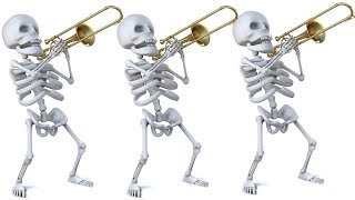 Spooky Scary Skeletons Halloween 2018 Trombone Arrangement