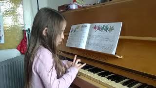 Piano practice -Ten little indians