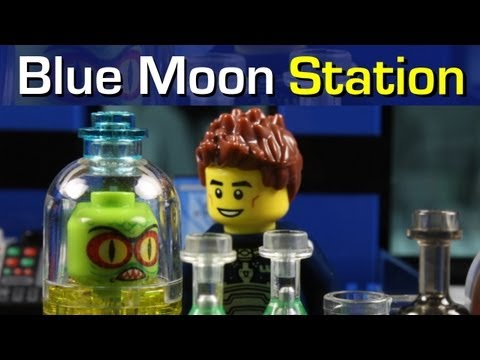 LEGO MOVIE Blue Moon Station - a LEGO stop motion by MonsieurCaron