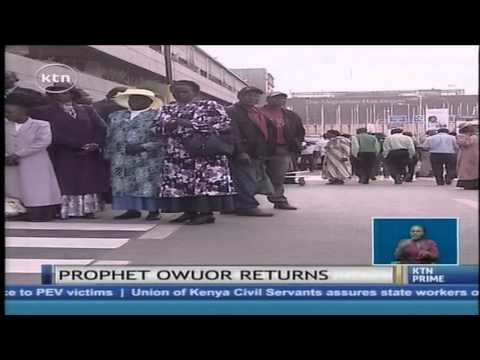Congo's President releases his private jet to bring Prophet Owuor back to Kenya