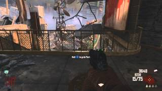 Black Ops 2 Zombies_ The B34R Challenge! Die Rise (Part 1)