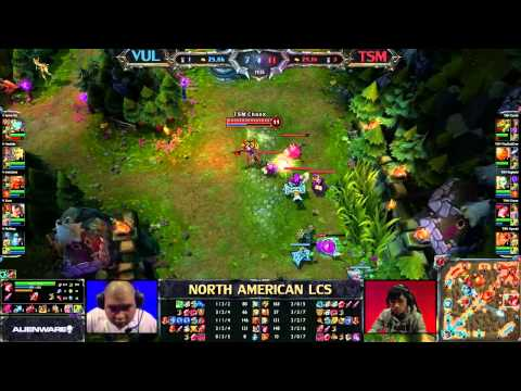 VUL vs TSM - LCS 2013 NA Spring W2D1 (English)