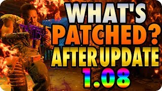 BO4 Zombie Glitches: What's Patched? After Update 1.08 - Black Ops 4 Zombie Glitches