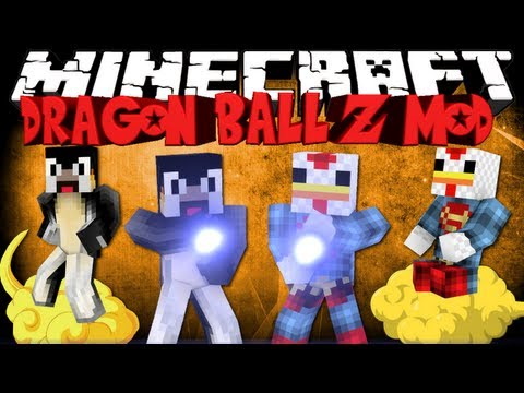 Dragon Ball Z Mod: Minecraft Dragon Block Z Mod Showcase! Super Saiyan & Kamehameha!