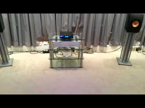 Rihanna - Loveeeee Song on Resonessence Invicta. Chord and KEF LS50 Speakers