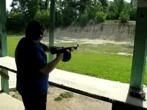 Thompson ta5 youtube for Honey island shooting range