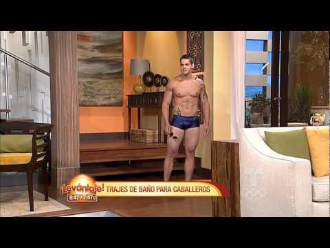 Lev ntate trajes de ba o para hombres telemundo youtube for Modelos de baneras para bano