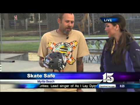 5/8/13 Amanda Live skateboarding - Good Morning Carolinas