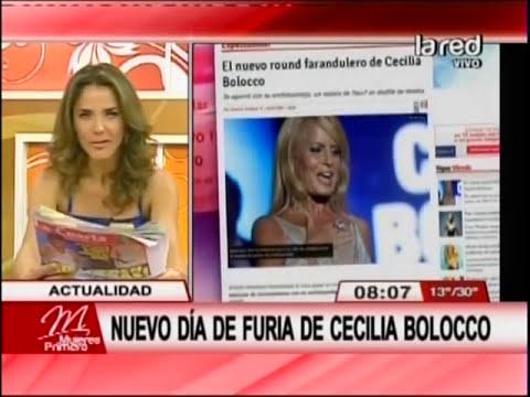 Nuevo día de furia de Cecilia Bolocco