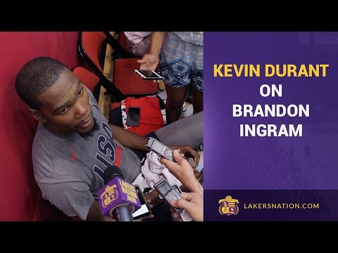 Kevin Durant On Brandon Ingram: 'Feel Like I'm Looking In The Mirror'