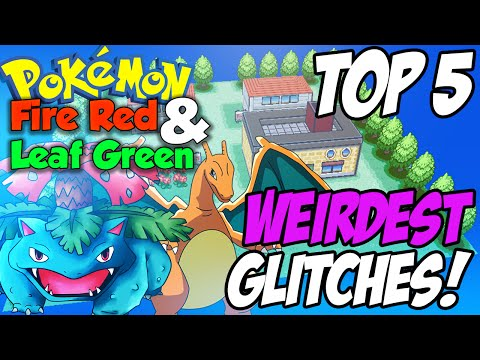 Top 5: Weirdest Glitches   Pokemon Fire Red & Leaf Green! (Jason Plays Pokemon)