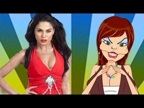 Veena Malik CAUGHT Red Handed by Taki Sawant