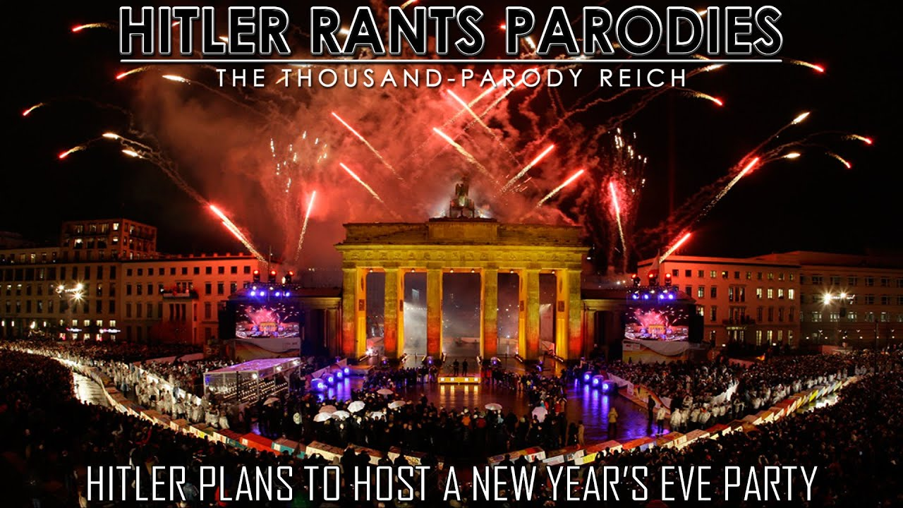 Hitler plans to host a New Year's Eve party