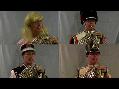 Frippery  No. 17 March for Horn Quartet, Steve Park, Horn