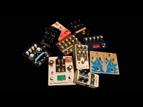Best Guitar Effects Pedals of 2011 - TOP 10 SHOOTOUT