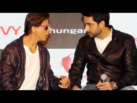 Shah Rukh Khan Praises Abhishek Bachchan All The Way!