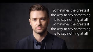 Download Lagu Justin Timberlake - Say Something (Karaoke Version) Ⓜ️ ft. Chris Stapleton Gratis STAFABAND