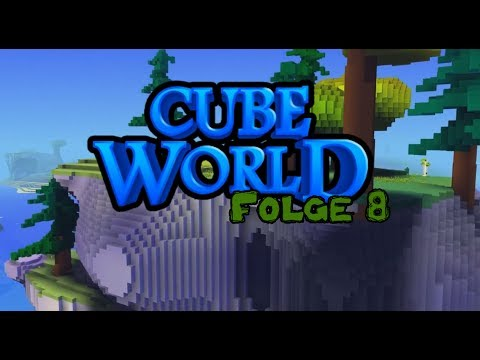 Let's Play Cube World #8 - Land in Sicht?【Sweet Undead】