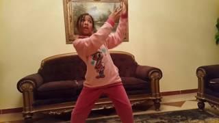 جويرية حمدى ورقص هندى