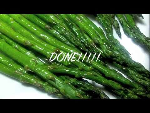 Plain Roasted Asparagus
