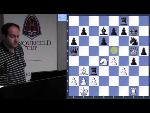 Chess for Beginners with GM Ronen Har-Zvi (Games of Anand and Carlsen) - 2013.11.03