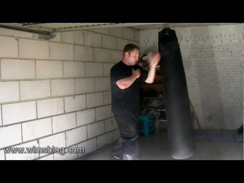 Freestyle Kuntao Silat Training on the Heavy Bag Image 1