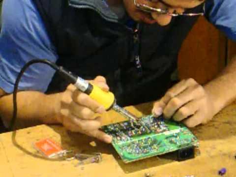 reparar monitor LCD . AOC 15