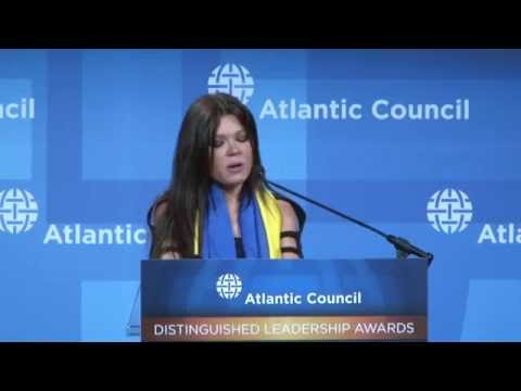 Ruslana - Appeal to America and President Obama | Distinguished Leadership Award, Washington