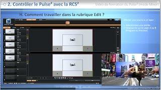 Pulse² PLS350-3G : Vidéo de formation - Mode Mixer