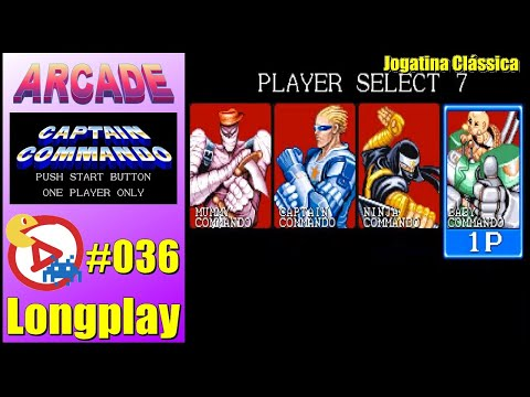 Arcade Longplay Captain Commando