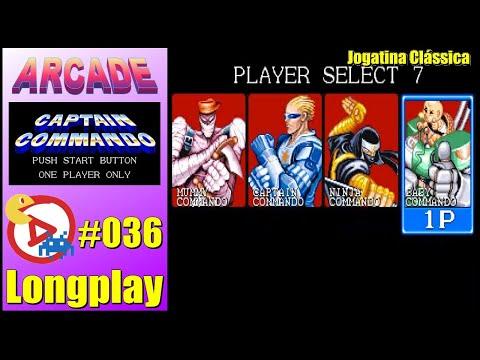 Arcade Longplay Captain Commando