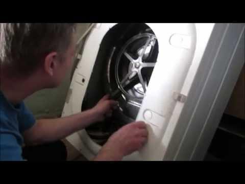 Замена подшипника в стиральной машине индезит своими
