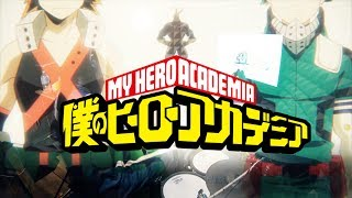 僕のヒーローアカデミア Lenny Code Fiction Make My Story フルを叩いてみた My Hero Academia S3 Op2 Full Drum