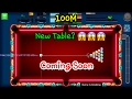 8 Ball Pool New Tables & New Update Is Coming Soon!