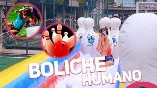 GINCANA: BOLICHE HUMANO COM RAFAEL UCCMAN, MC POCAHONTAS, MC DEDE, LETICIA ESCARIÃO, TULIO ROCHA