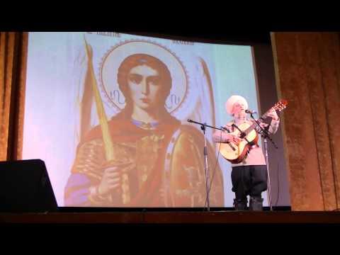 Поэт Николай Боголюбов и казак Михаил Устинов